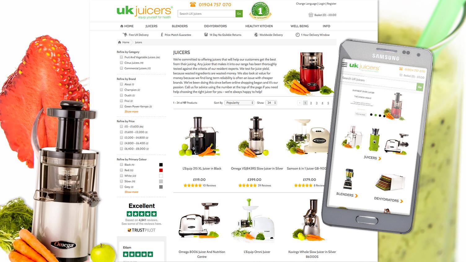 UK Juicers